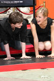 Daniel Radcliff, Daniel Radcliffe, Emma Watson arkivfoton