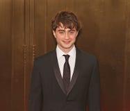 Daniel Radcliffe Arrives bei 64. Tonys im Jahre 2010 Lizenzfreies Stockbild
