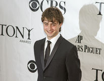 Daniel Radcliffe Arrives en 64.o Tonys en 2010 fotos de archivo libres de regalías