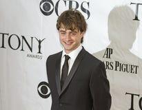 Daniel Radcliffe Arrives på 64th Tonys i 2010 Royaltyfria Foton