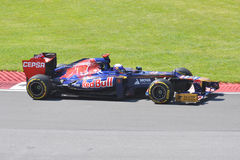 Daniel Ricciardo in 2012 F1 Canadian Grand Prix Stock Images