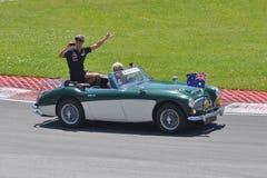 Daniel Ricciardo in 2012 F1 kanadisches großartiges Prix stockfotografie
