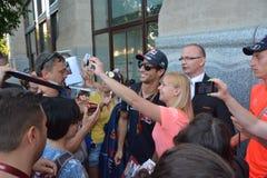 Daniel Ricciardo Royalty Free Stock Photography