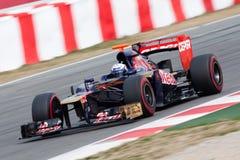 Daniel Ricciardo F1 2012 - Toro Rosso - Zdjęcie Stock