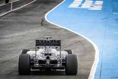 Daniel Ricciardo at Jerez 2015 Royalty Free Stock Photos