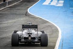 Daniel Ricciardo at Jerez 2015 Royalty Free Stock Photos