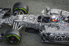 Daniel Ricciardo at Jerez 2015 Stock Images