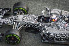 Daniel Ricciardo at Jerez 2015 Stock Images