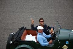 Daniel Ricciardo nel Gran Premio 2018 di Monza F1 fotografie stock