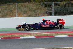 Daniel Ricciardo sluit zich aan bij pitline Royalty-vrije Stock Fotografie