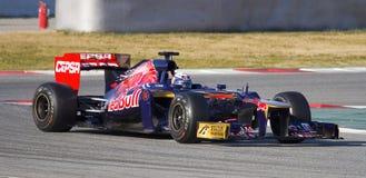 Daniel Ricciardo of Toro Rosso Stock Photos