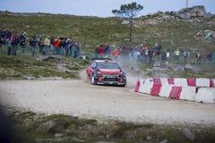 Daniel Sordo, Hyundai-Motorsport lizenzfreies stockbild