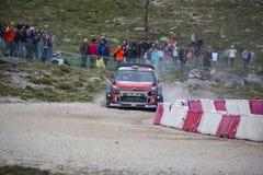 Daniel Sordo, Motorsport de Hyundai Fotografía de archivo