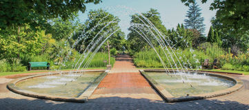 Daniel Stowe Arch Fountain photo stock