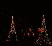 Daniel Stowe Botanical - Kerstmis 9 Stock Afbeelding