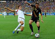 Daniel Van Buyten Coupe du monde 2014 Fotografie Stock Libere da Diritti