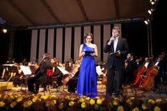 Daniela Nane och Adrian Paduraru Royaltyfri Fotografi