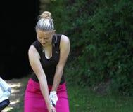 Daniela Prorokova at the Fourqueux Ladies Open 2013 Stock Photo
