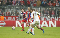 Daniele De Rossi Bayern Munich v AS Rome Champion League Royalty Free Stock Images