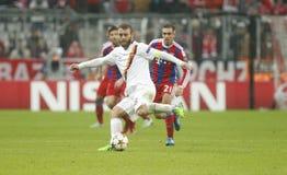Daniele De Rossi Bayern Munich v AS Rome Champion League Stock Photos