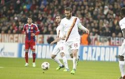 Daniele De Rossi Bayern Munich v AS Rome Champion League Royalty Free Stock Photography