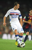 Daniele Gastaldello of UC Sampdoria Stock Photo