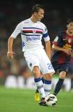 Daniele Gastaldello van UC Sampdoria stock foto