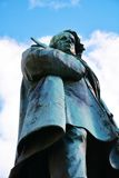 Daniele Manin statua w Wenecja, Europa Fotografia Royalty Free