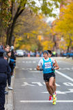 Daniele Meucci (Italië) stelt de 2013 NYC Marathon in werking Stock Afbeeldingen