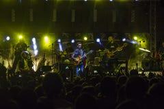 Daniele silvestri live on stage Royalty Free Stock Photo