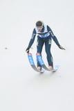 Daniele Varesco - скакать лыжи Стоковые Изображения RF