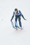 Daniele Varesco - narciarski doskakiwanie Obrazy Royalty Free