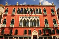 Danieli Hotel in Venedig, Italien Stockfotos