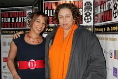 Daniella Blechner and Lydia Martinelli at the Pan African Film Festival Premiere of 'Layla'. Culver Plaza Theatre, Culver City, CA Stock Image
