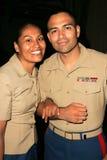 Danielle Gary y Angel Ramos Imagenes de archivo