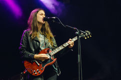 Danielle Haim of HAIM Royalty Free Stock Photos