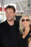 Danielle Spencer,Russell Crowe Stock Photography