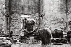 Danificado de Lord Buddha Fotos de Stock