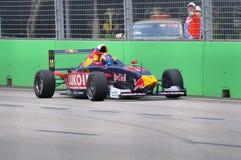 Daniil Kvyat at Formula BMW Pacific race Stock Photography