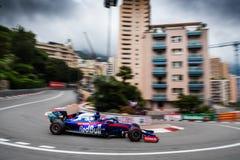 Daniil KVYAT in his Toro Rosso STR14 at the hairpin