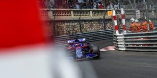 Daniil KVYAT in his Toro Rosso STR14 at Tabac during free practice