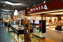 DANIJA store on November 25, 2013, Vilnius Royalty Free Stock Image