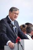 danilo斯洛文尼亚总统土耳其人 免版税库存照片