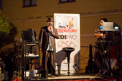 Danilo Daita- - Lanciano-Weltrekorde 2014 Stockfotografie