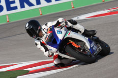 Danilo Dell'Omo Triumph Daytona 675 Suriano stock photo