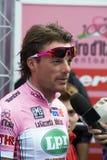 Danilo Di Luca - t-shirt cor-de-rosa Foto de Stock Royalty Free