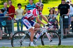 Danilo DI LUCA van het Russische team Katusha Stock Foto's