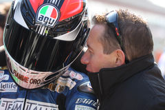 Danilo Petrucci Ducati 1198R Barni Superstock Royalty Free Stock Photos