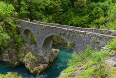 Danilo's Bridge Over Mrtvica river, Montenegro Stock Photography