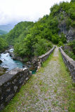 Danilo's Bridge Over Mrtvica river, Montenegro Stock Photo